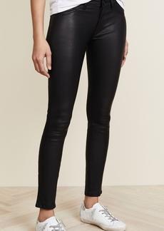 DL 1961 DL1961 Emma Power Legging Leather & Coated Jeans