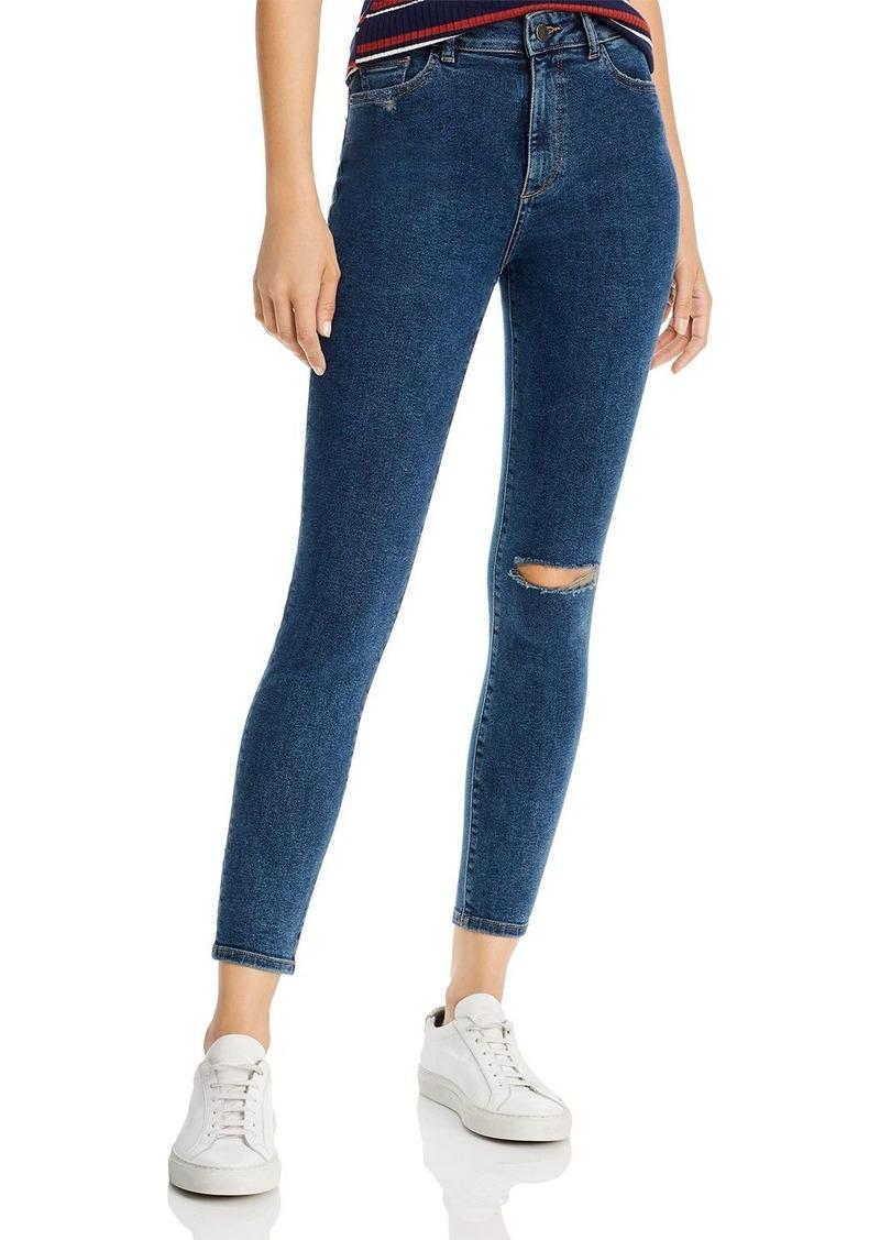 DL 1961 DL1961 Farrow Ankle High Rise Jeans in Gresham