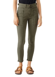 DL 1961 DL1961 Farrow High-Rise Cropped Skinny Jeans in Kale