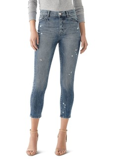 DL 1961 DL1961 Farrow High-Rise Cropped Skinny Jeans in Tacoma