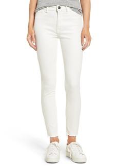 DL1961 Farrow High Waist Instaslim Skinny Jeans (Eggshell)