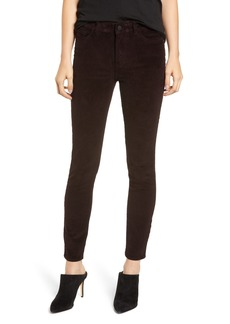 DL 1961 DL1961 Farrow High Waist Ankle Skinny Corduroy Pants (Birch Lake)