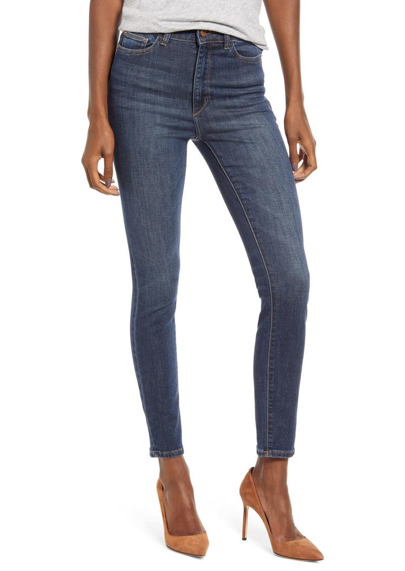 DL 1961 DL1961 Farrow High Waist Ankle Skinny Jeans (Graham)