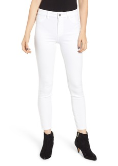 DL 1961 DL1961 Farrow High Waist Ankle Skinny Jeans (Porcelain)