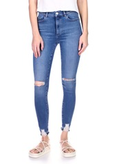 DL 1961 DL1961 Farrow High Waist Ankle Skinny Jeans (Rip Tide Distressed)