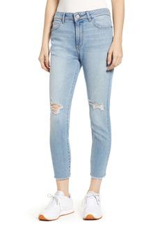 DL 1961 DL1961 Farrow Instaslim Ripped High Waist Crop Skinny Jeans (Toledo)