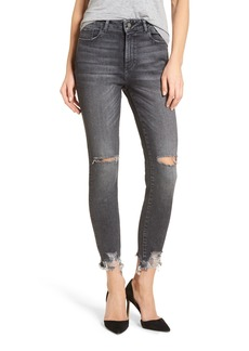 DL1961 Farrow Ripped Ankle Jeans (Light Smoke)