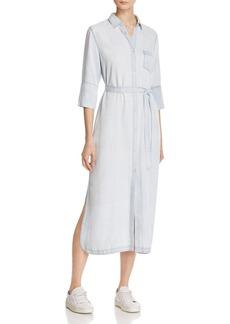DL 1961 DL1961 Fire Island Chambray Shirt Dress