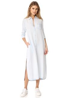 DL 1961 DL1961 Fire Island Maxi Shirt Dress