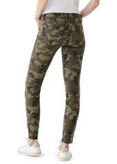DL 1961 DL1961 Florence Camo Mid Rise Skinny Jeans (Marsh Ultimate)