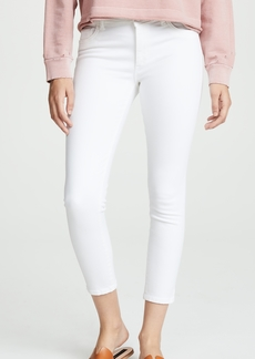 DL 1961 DL1961 Florence Cropped Mid Rise Skinny Jeans