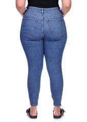 DL 1961 DL1961 Florence Instasculpt Ankle Skinny Jeans (Azure) (Plus Size)