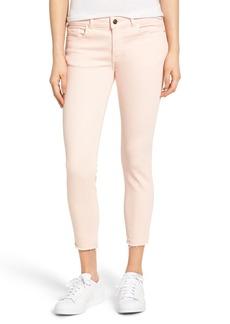 DL1961 Florence Instasculpt Crop Jeans (Hibiscus)