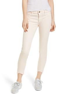 DL1961 Florence Instasculpt Crop Skinny Jeans (Blush Pink)