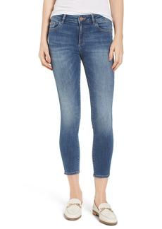DL 1961 DL1961 Florence Instasculpt Crop Skinny Jeans (Everglade)