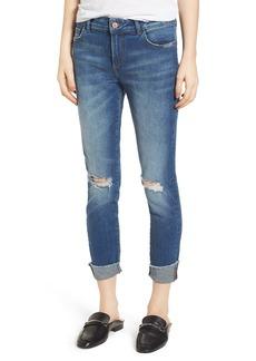 DL1961 Florence Instasculpt Crop Skinny Jeans (Harbor)