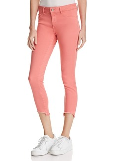 DL 1961 DL1961 Florence Instasculpt Crop Skinny Jeans in Sunset