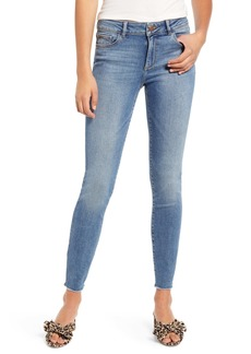 DL 1961 DL1961 Florence Instasculpt Fray Hem Skinny Jeans (Rawlins)