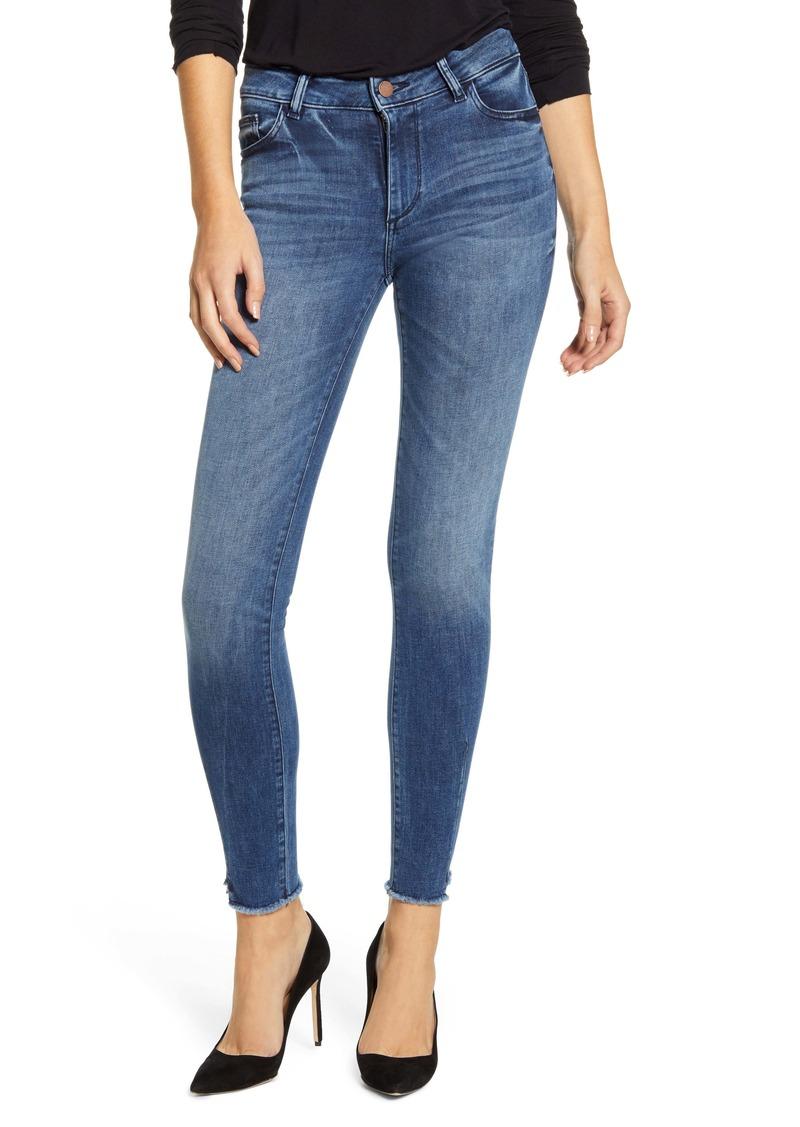 DL 1961 DL1961 Florence Instasculpt Raw Ankle Skinny Jeans (Barbon)