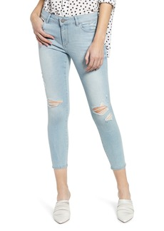 DL 1961 DL1961 Florence Instasculpt Ripped Crop Skinny Jeans (Fairfax)