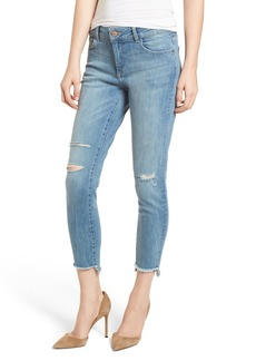 DL1961 Florence Instasculpt Ripped Crop Skinny Jeans (Hendrix)