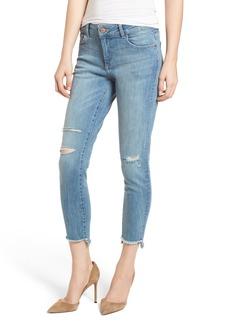 DL 1961 DL1961 Florence Instasculpt Ripped Crop Skinny Jeans (Hendrix)