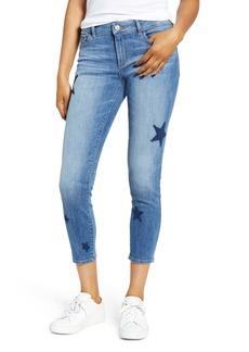 DL 1961 DL1961 Florence Instasculpt Star Crop Skinny Jeans (Castor)
