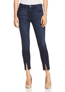 DL 1961 DL1961 Florence Mid Rise Instasculpt Cropped Skinny Jeans in Aldridge