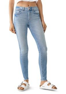 DL 1961 DL1961 Florence Mid-Rise Skinny Ankle Jeans in Osbourne