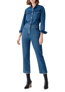 DL 1961 DL1961 Freja Denim Utility Jumpsuit in Tripoli