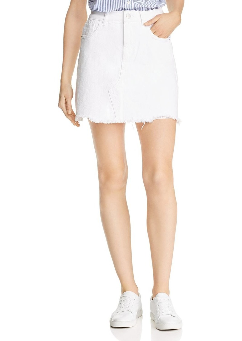 DL 1961 DL1961 Georgia Denim Mini Skirt in Presley