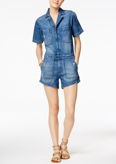 DL1961 Hannah Cotton Denim Romper