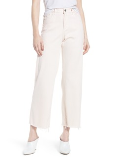 DL1961 Hepburn Ankle Wide Leg Jeans (Blush Pink)