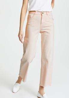 DL 1961 DL1961 Hepburn High Rise Wide Leg Jeans
