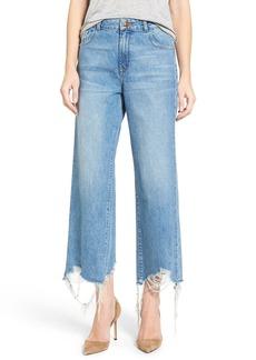 DL1961 Hepburn High Rise Wide Leg Jeans (Slate)