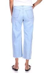 DL 1961 DL1961 Hepburn High Waist Crop Wide Leg Jeans (Baby Blue)