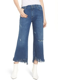 DL1961 Hepburn High Waist Wide Leg Jeans (Goldfield)