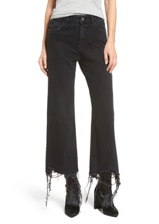DL 1961 DL1961 Hepburn High Waist Wide Leg Jeans (Savannah Destroy)