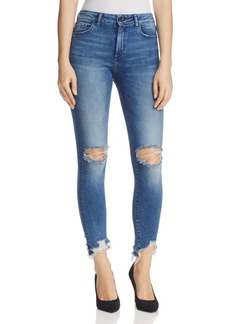 DL 1961 DL1961 Farrow Ankle Instaslim High-Rise Jeans in Laramie