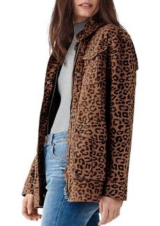 DL 1961 DL1961 Howard St. Leopard Print Utility Jacket