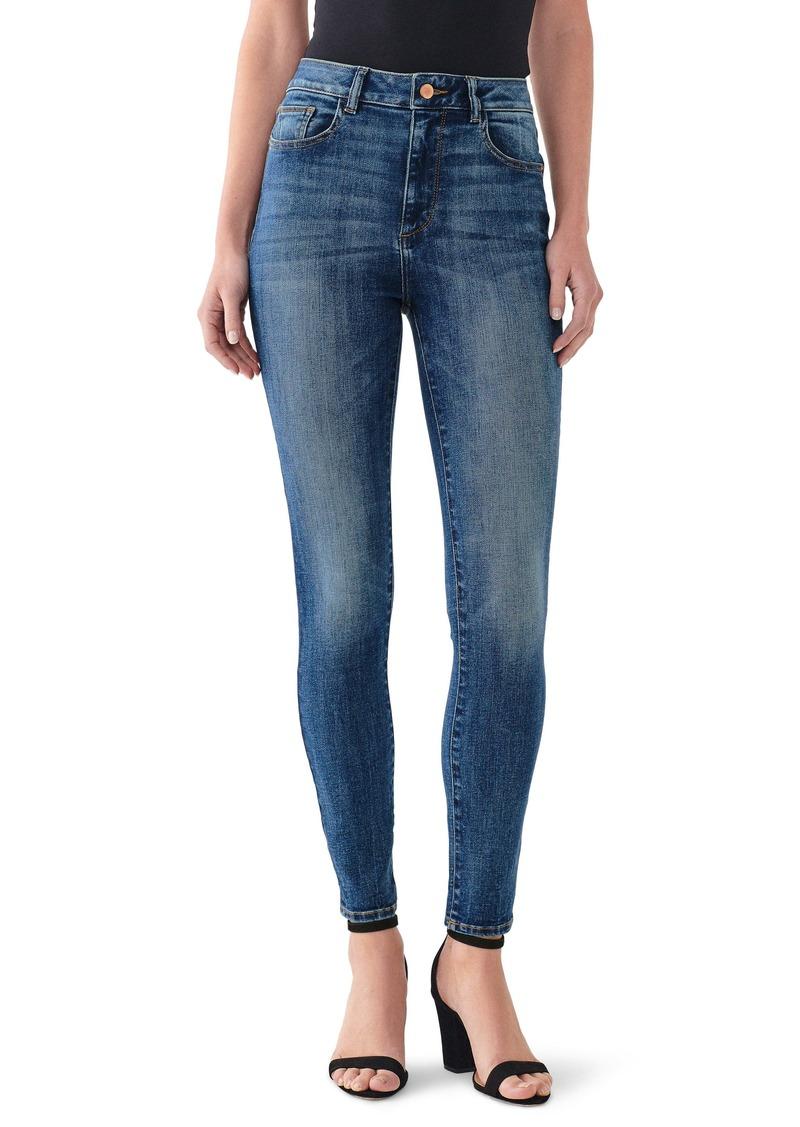 DL 1961 DL1961 Instasculpt Farrow High Waist Ankle Skinny Jeans (Rogers)