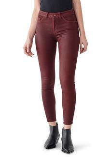 DL 1961 DL1961 Instasculpt Florence Ankle Skinny Jeans (Merlot)