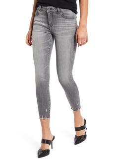 DL 1961 DL1961 Instasculpt Florence Distressed Crop Skinny Jeans (Huntley)