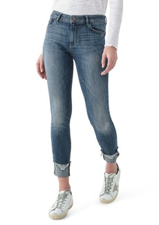 DL 1961 DL1961 Instasculpt Florence Ripped Ankle Skinny Jeans (Moore)