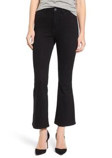 DL 1961 DL1961 Jackie High Waist Crop Flare Jeans (Carver)