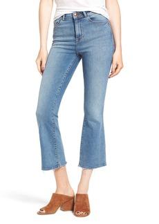 DL 1961 DL1961 Jackie Trimtone High Waist Crop Flare Jeans (Marker)