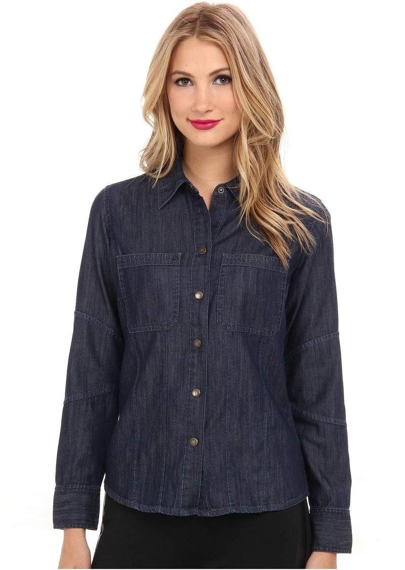 DL 1961 Jenny Fitted Denim Shirt