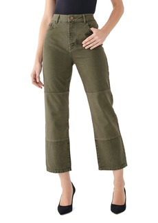 DL 1961 DL1961 Jerry High-Rise Cropped Straight Vintage Jeans in Patras