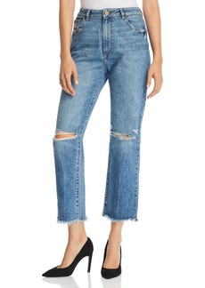 DL 1961 DL1961 Jerry High Rise Vintage Straight Jeans in Veracruz