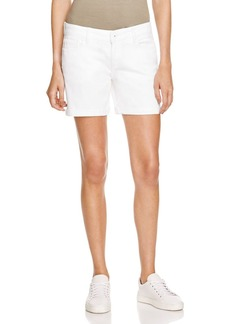 DL 1961 DL1961 Karlie Boyfriend Shorts in Milk